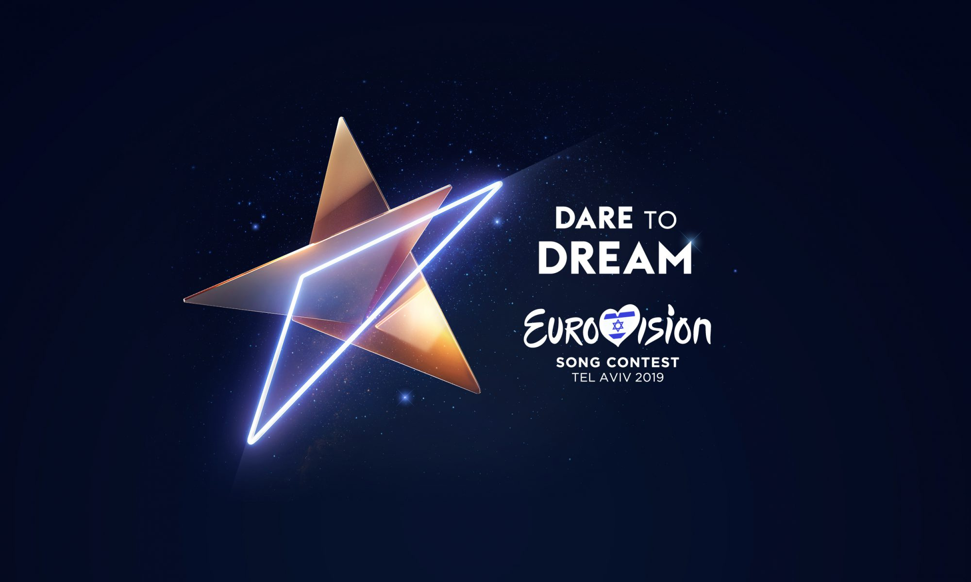 "Eurovision Song Contest 2019 Logo ""Dare to Dream"""
