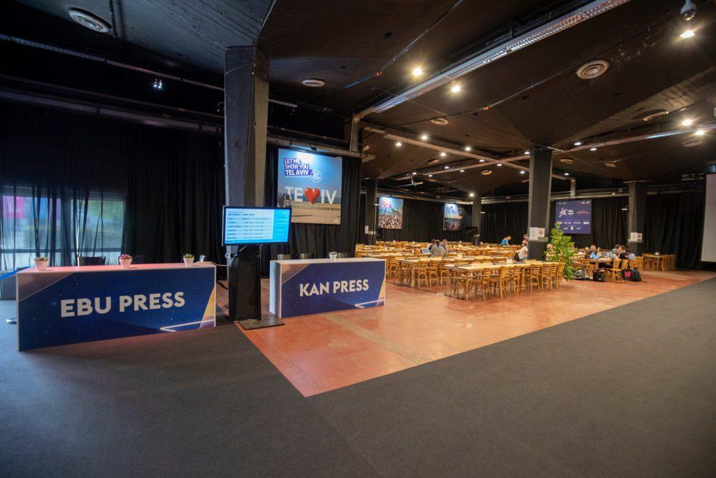 Ein Blick ins Pressezentrum | Foto: Andres Putting (EBU)