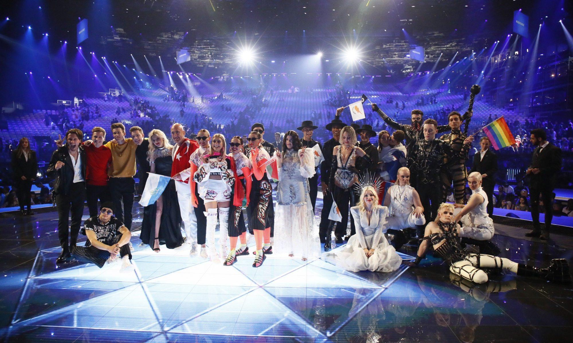 Die glücklichen Finalisten | Foto: Andres Putting/EBU
