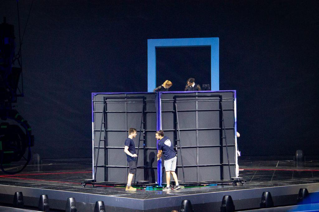 Sichtschirm fürs Publikum - wo ist Leonora? | Foto: Martin Schmidtner