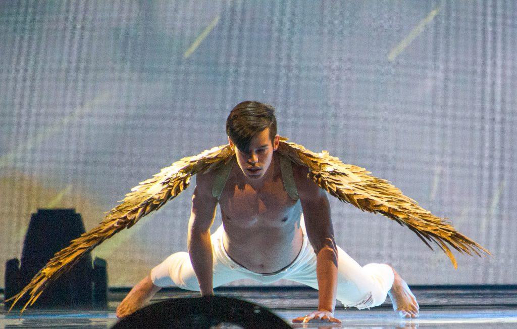 Wenn Engel nicht singen, turnen sie | Foto: Marc Schulte