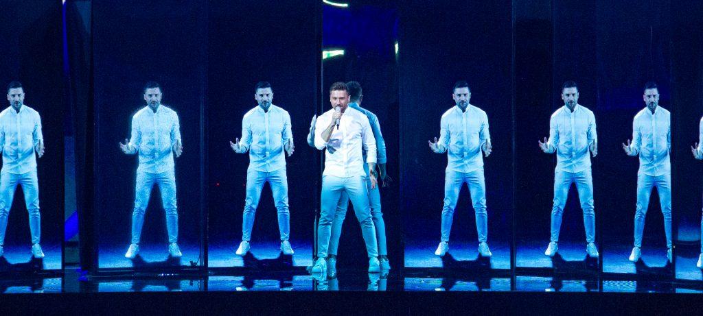 Sergey, 2 mal beim ESC, noch öfters auf der Bühne | Foto: Martin Schmidtner