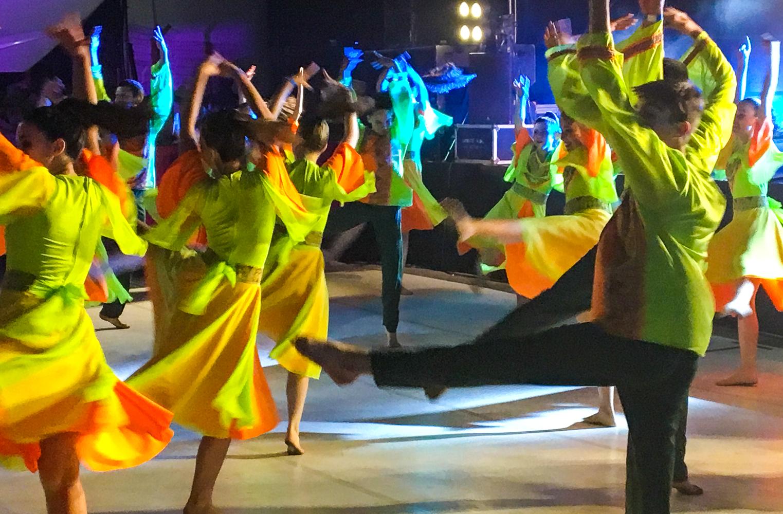 Tanzcompany beim Eröffnungsempfang | Foto: Marc Schulte