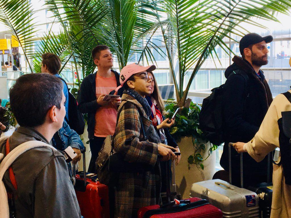 Der Franzose Bilal bei der Abreise | Foto: Marc Schulte